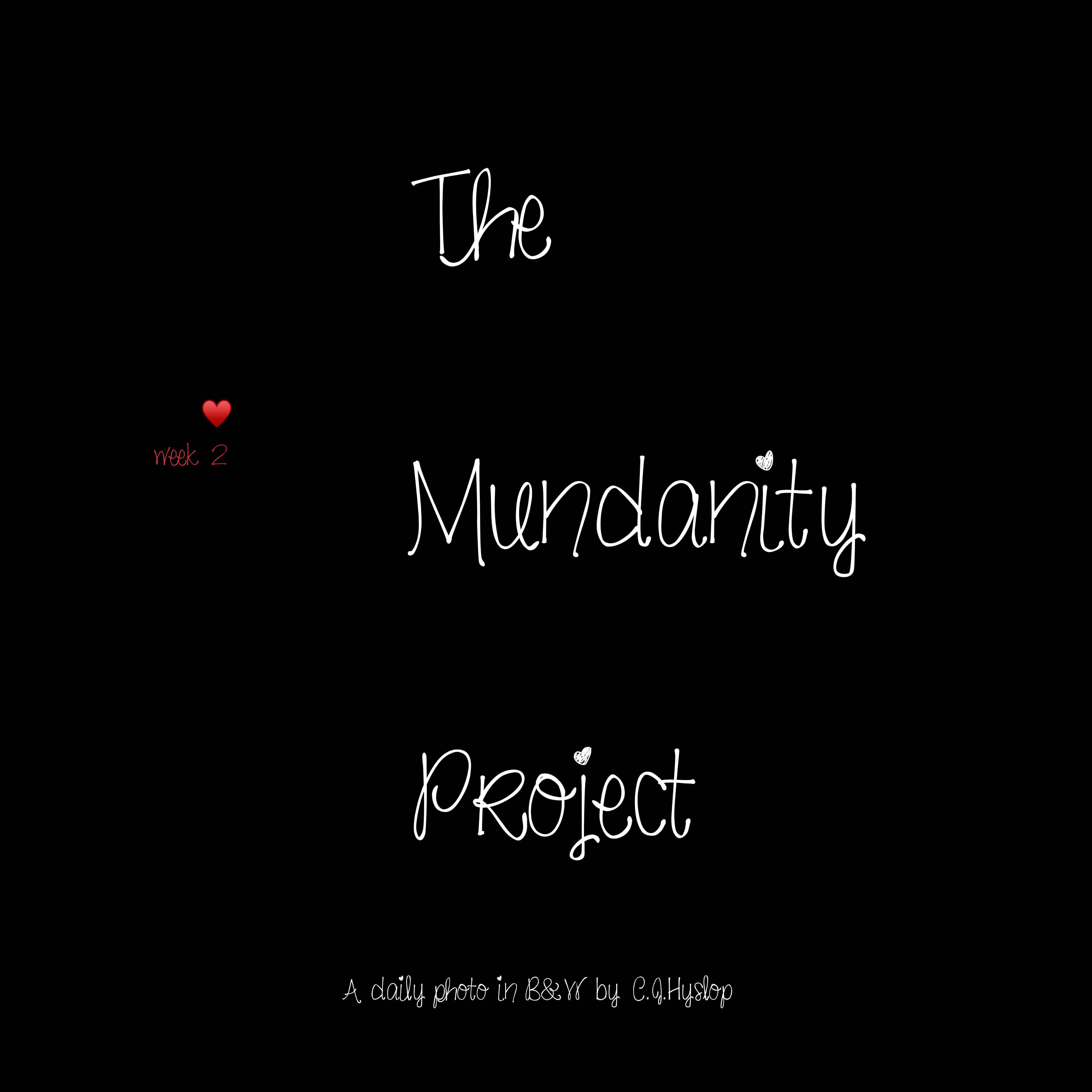 Mundanity Monday
